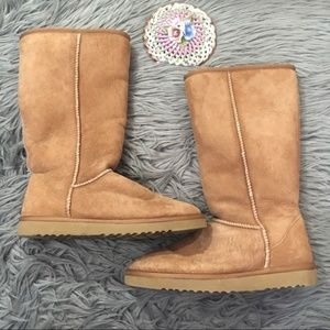 Ugg Classic Tall 5815 Chestnut Boots Shearling